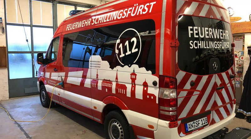Neues Mehrzweckfahrzeug der FFW Schillingsfürst