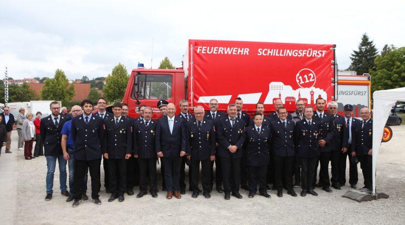 Bundeswehrunimog hergerichtet und als Gerätewagen in Dienst gestellt