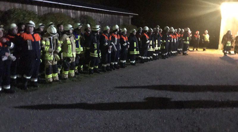 Inspektion der Feuerwehren der Stadt Schillingsfürst und der Gemeinde Diebach